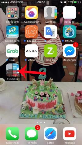 Cách cài đặt ứng dụng chỉnh ảnh Everfilter trên iPhone/iPad