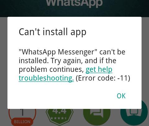 Giải mã tất cả các lỗi xuất hiện trên Google Play và cách khắc phục (Phần 3)