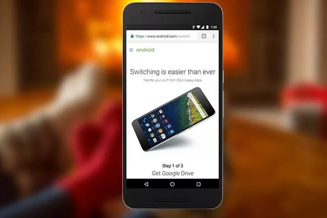 Cách chuyển dữ liệu từ iPhone sang Android bằng Google Drive