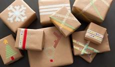 Hướng dẫn cách gói quà độc đáo không cần dùng đến băng dính hay dây ruy băng