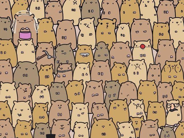 9. Tìm củ khoai tây trong những con chuột này