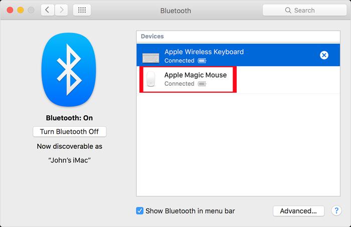 Hướng dẫn thay đổi tên chuột Magic Mouse trên máy Mac