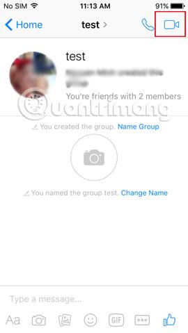 Cách gọi video nhóm trên Facebook Messenger