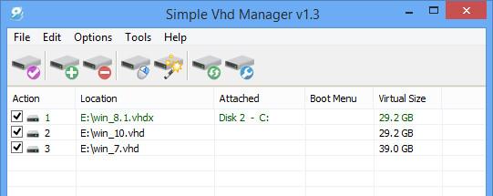 Toàn tập cách sử dụng Simple VHD Manager