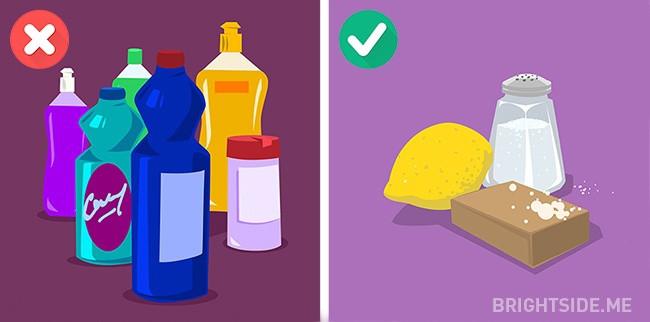Sử dụng bột giặt hoặc nước giặt đắt tiền