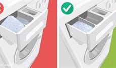 15 sai lầm phổ biến ai cũng mắc phải khi dùng máy giặt