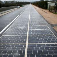 Con đường năng lượng mặt trời đầu tiên trên thế giới đi vào hoạt động tại Normandy, Pháp