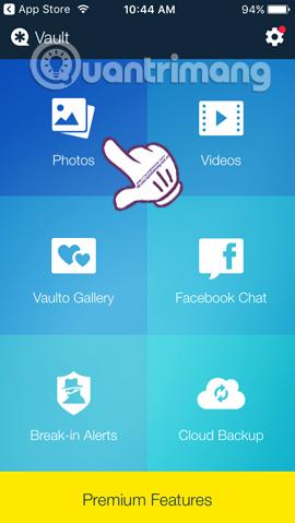 Làm sao để giấu hình ảnh, video, dữ liệu cá nhân trên iPhone/iPad?