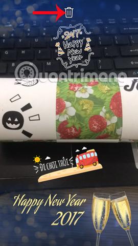 Cách chèn sticker vào video, hình ảnh trên Zalo