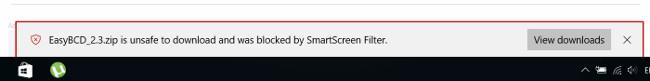 Làm thế nào để tải các file bị chặn trên trình duyệt Edge trên Windows 10?