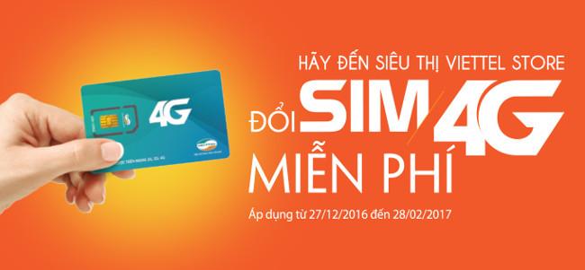 Hướng dẫn cách đăng ký SIM 4G Viettel hoàn toàn miễn phí