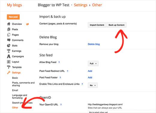 Hướng dẫn chuyển Blogger thành WordPress không lo mất thứ hạng Google