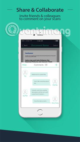 Những ứng dụng scan ảnh hiệu quả trên smartphone