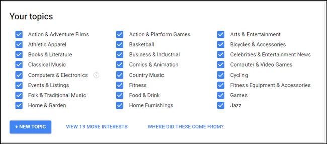 Cách chặn quảng cáo được cá nhân hóa của Google