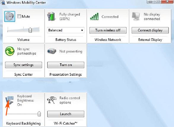 Hướng dẫn kích hoạt Keyboard Backlight trên Windows 10