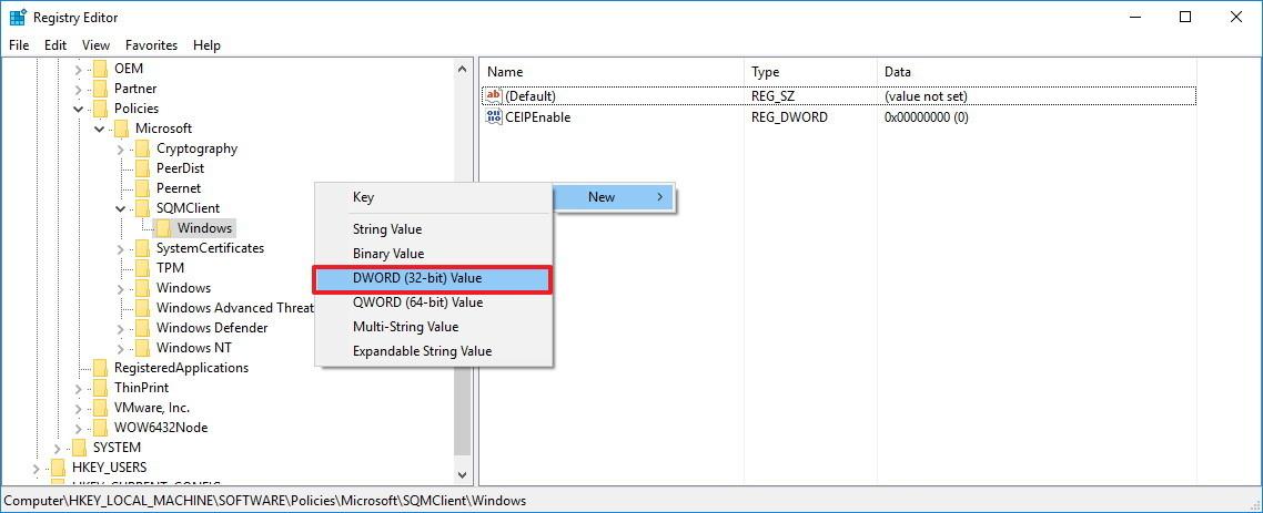 Ngăn Microsoft ngừng thu thập thông tin hệ thống trên Windows 10