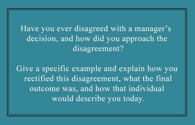 Bạn đã bao giờ bất đồng quan điểm với quyết định của cấp trên hay chưa?