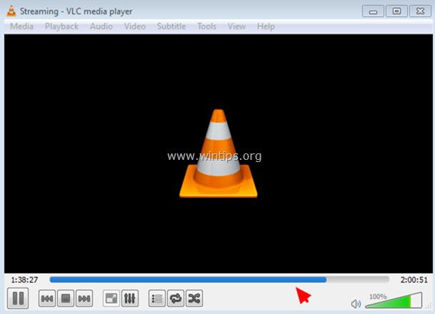 Chờ cho đến khi quá trình chuyển đổi định dạng video MKV thành định dạng MP4 kết thúc