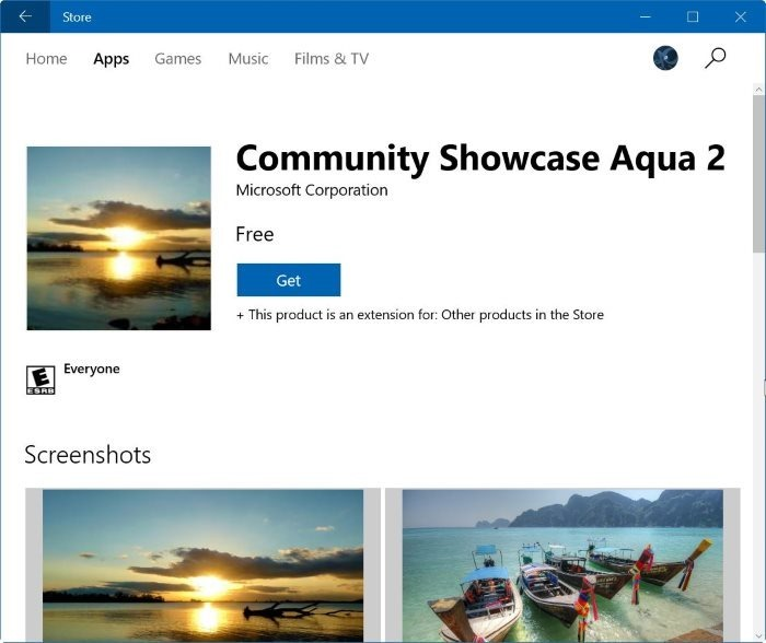 Làm thế nào để cài đặt Windows 10 Themes từ Windows Store?