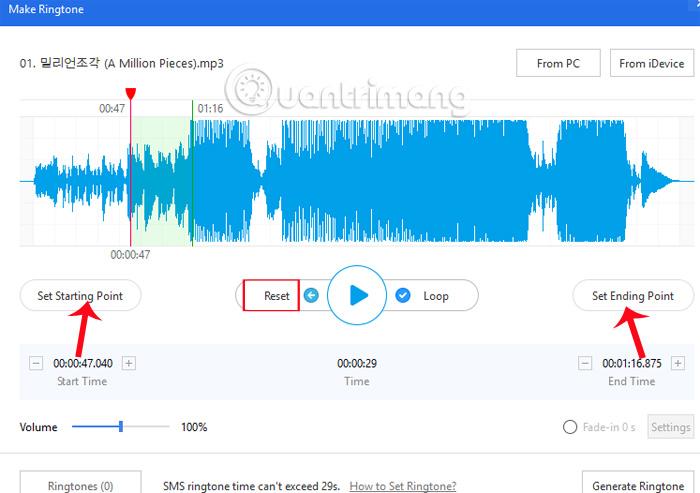 Hướng dẫn tạo nhạc chuông trên iPhone bằng 3uTools