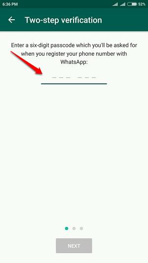 Cách kích hoạt 2 bước xác minh tài khoản WhatsApp