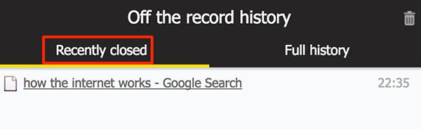 Cách lưu lịch sử duyệt web khi duyệt web ở chế độ ẩn danh trên trình duyệt Chrome