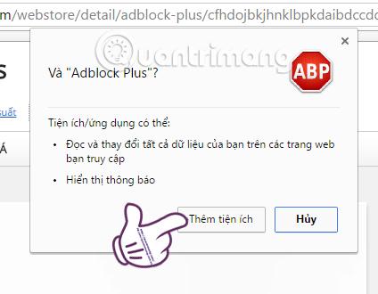 Adblock Plus Cốc Cốc