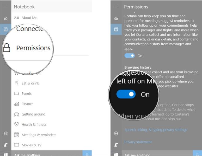Làm thế nào để tùy chỉnh thiết lập quyền riêng tư trên trình duyệt Edge Windows 10?