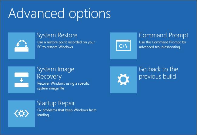 Hướng dẫn khắc phục lỗi Windows không khởi động được