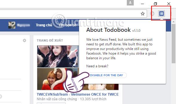Biểu tượng tiện ích Todobook