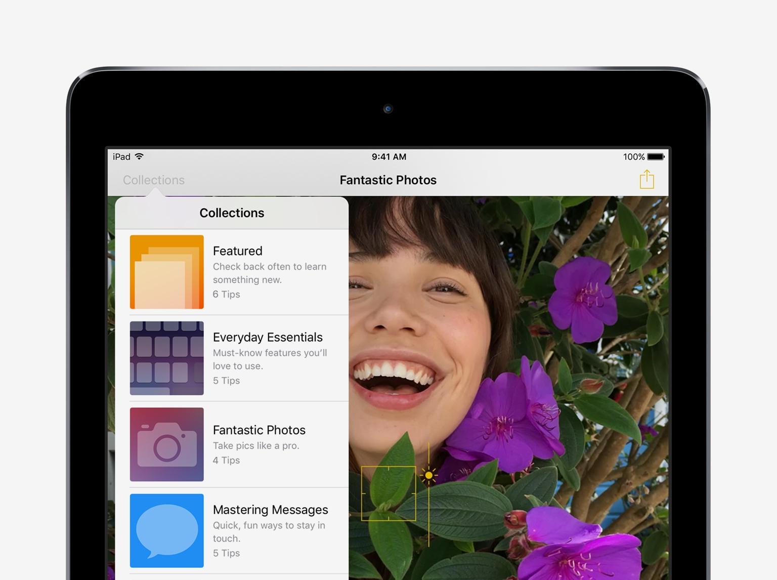 Một số thủ thuật và mẹo nhỏ hữu ích trên thiết bị iOS 10 – iPad (Phần 3)
