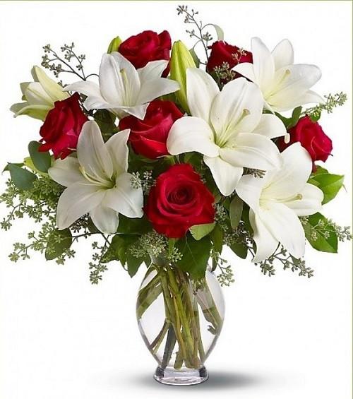 Ly và hồng một sự kết hợp hài hòa mang lại sự tinh khiết và thanh cao cho căn phòng của bạn.