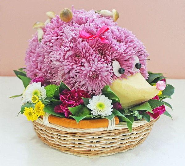 Một tạo hình thú vị cho hoa cúc.