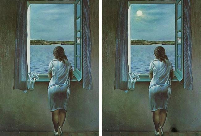 Hãy tìm ra 2 điểm khác nhau trên 2 bức hình này