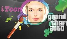 Cách sửa ảnh theo phong cách game GTA bằng iToon