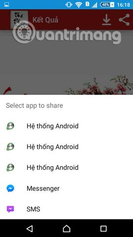 Cách viết chữ thư pháp Tết Đinh Dậu trên Android