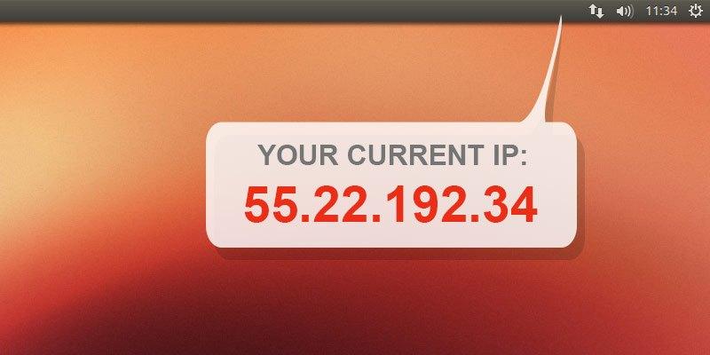 Hiển thị địa chỉ IP trên khay hệ thống trên Ubuntu