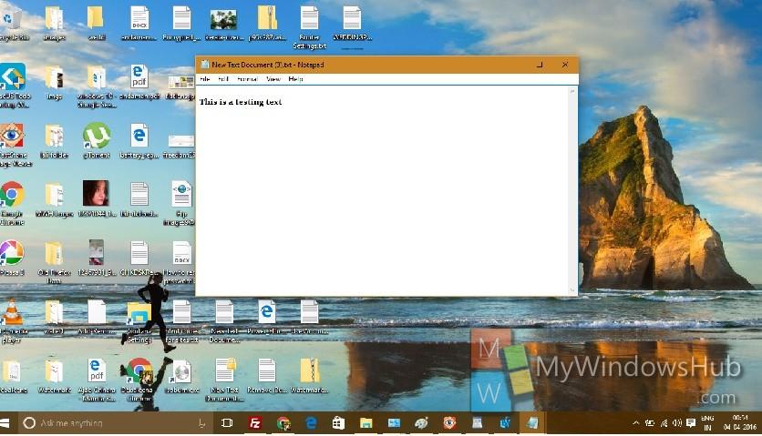 Reset Notepad về trạng thái thiết lập mặc định ban đầu