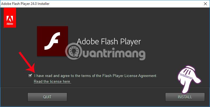 Hướng dẫn cách cài đặt Adobe Flash Player trên máy tính