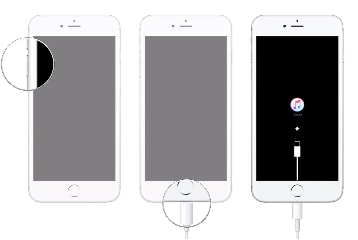 Cách đưa iPhone, iPad vào chế độ Recovery Mode