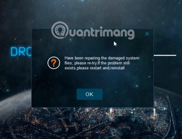 Cách sửa lỗi Droid4X không tương thích hệ điều hành Windows