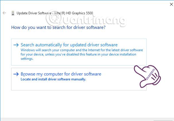 Cách sửa lỗi Droid4X cập nhật card màn hình