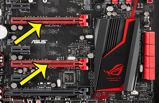 Khe PCI Express trên mainboard