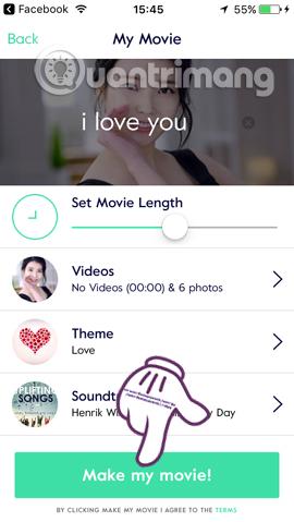 Hướng dẫn tạo video hình ảnh trên iPhone bằng Magisto