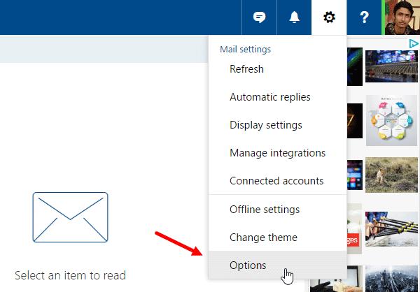Vô hiệu hóa Link Preview trên Outlook Web
