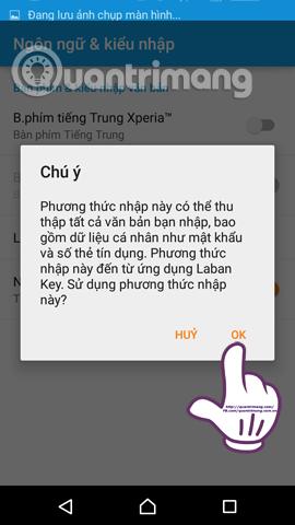 Cách cài đặt và sử dụng Laban Key trên Android