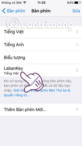 Hướng dẫn cài đặt và sử dụng Laban Key trên iPhone/iPad