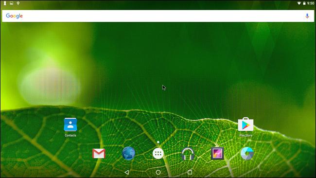 Sử dụng Android x86 trên máy tính