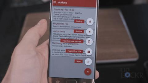 Loại bỏ tất cả ứng dụng Bloatware trên Samsung Galaxy S7 và S7 Edge