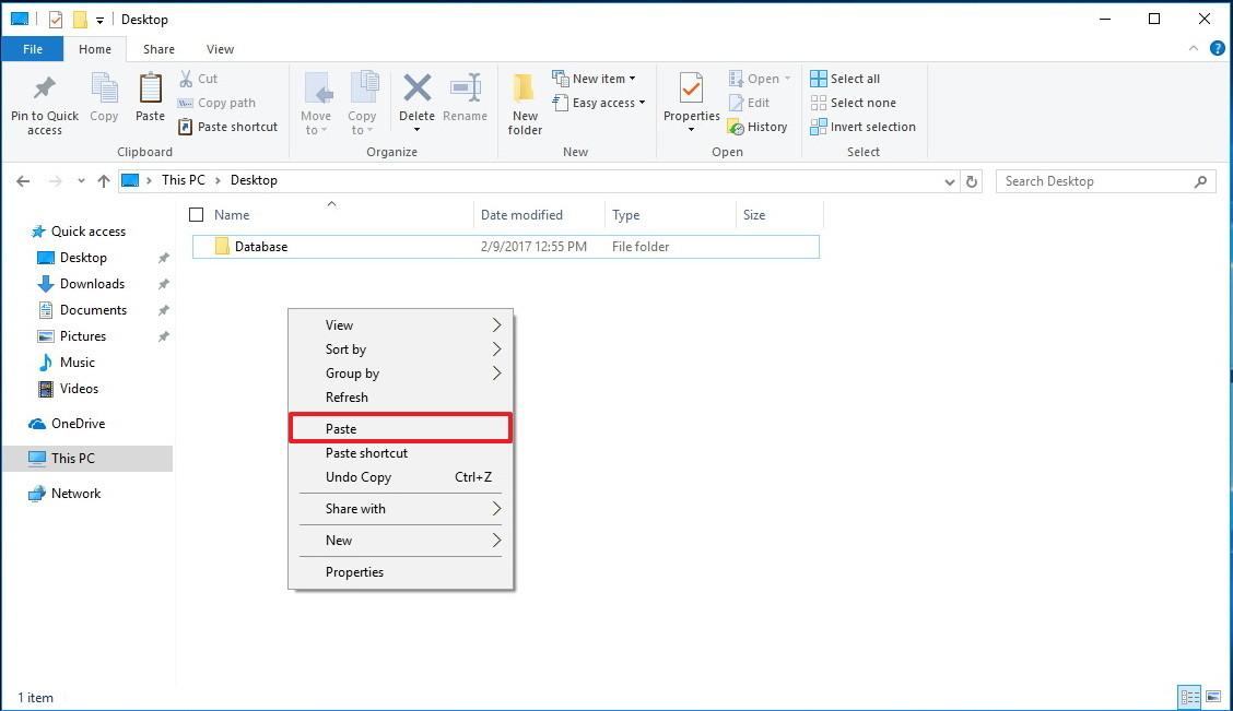 Sao lưu các thiết lập Start Menu trên Windows 10